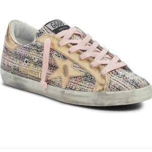 Golden Goose Superstar Low Top Sneakers size 36